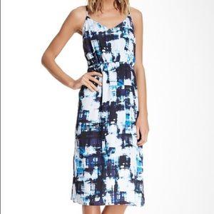 Vince Camuto Watercolor Dress Size M